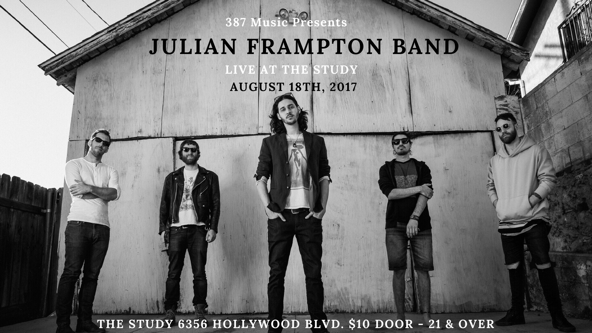 julian frampton band live at the study hollywood